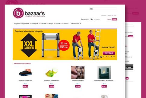 Mejora SEO ecommerce para Bazaar's