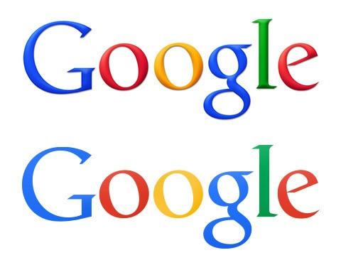 Comparación nuevo logo Google