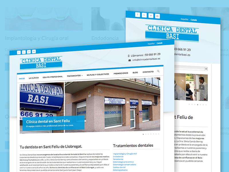 Migración Wordpress clinicadentalbasi.es
